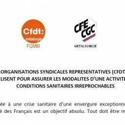 200320 - Texte commun UIMM CFDT CFE-CGC FO